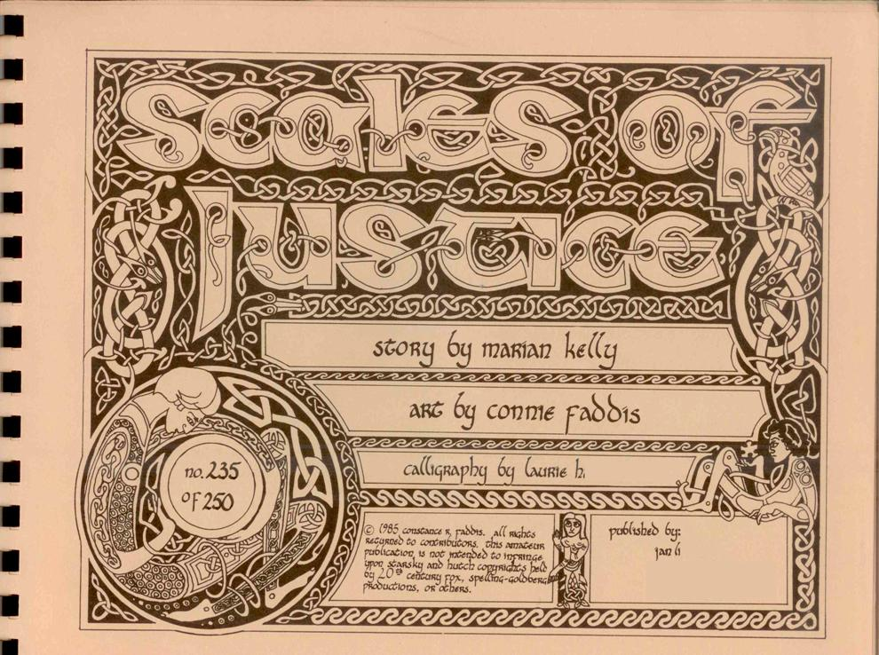 Image of Scales of Jutice's cover