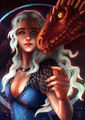 Mother of Dragons by RocioRodriguez.jpg