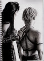 Xena and Gabrielle III by DarkButSoLovely.jpg