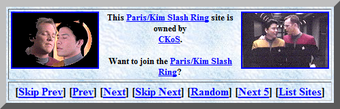 """This Paris/Kim Slash Ring site is owned by CKoS."""