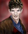 Colin morgan + merlin fanart by awokmon.png