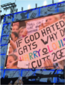 Larry sign - If god hates gays.png